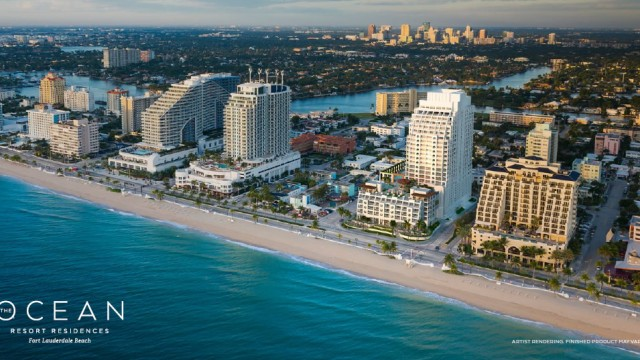The Ocean Resort Residences in Fort Lauderdale. 8% leaseback available