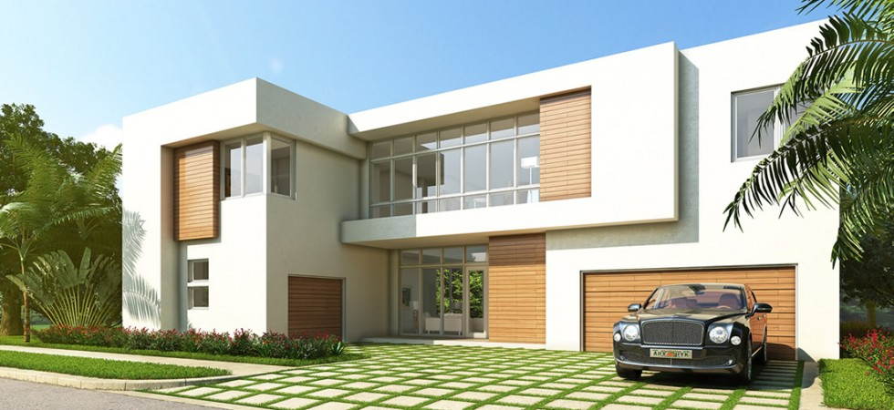 Modern doral new luxury homes for sale in doralnew build homes for Fachadas de casas en miami florida