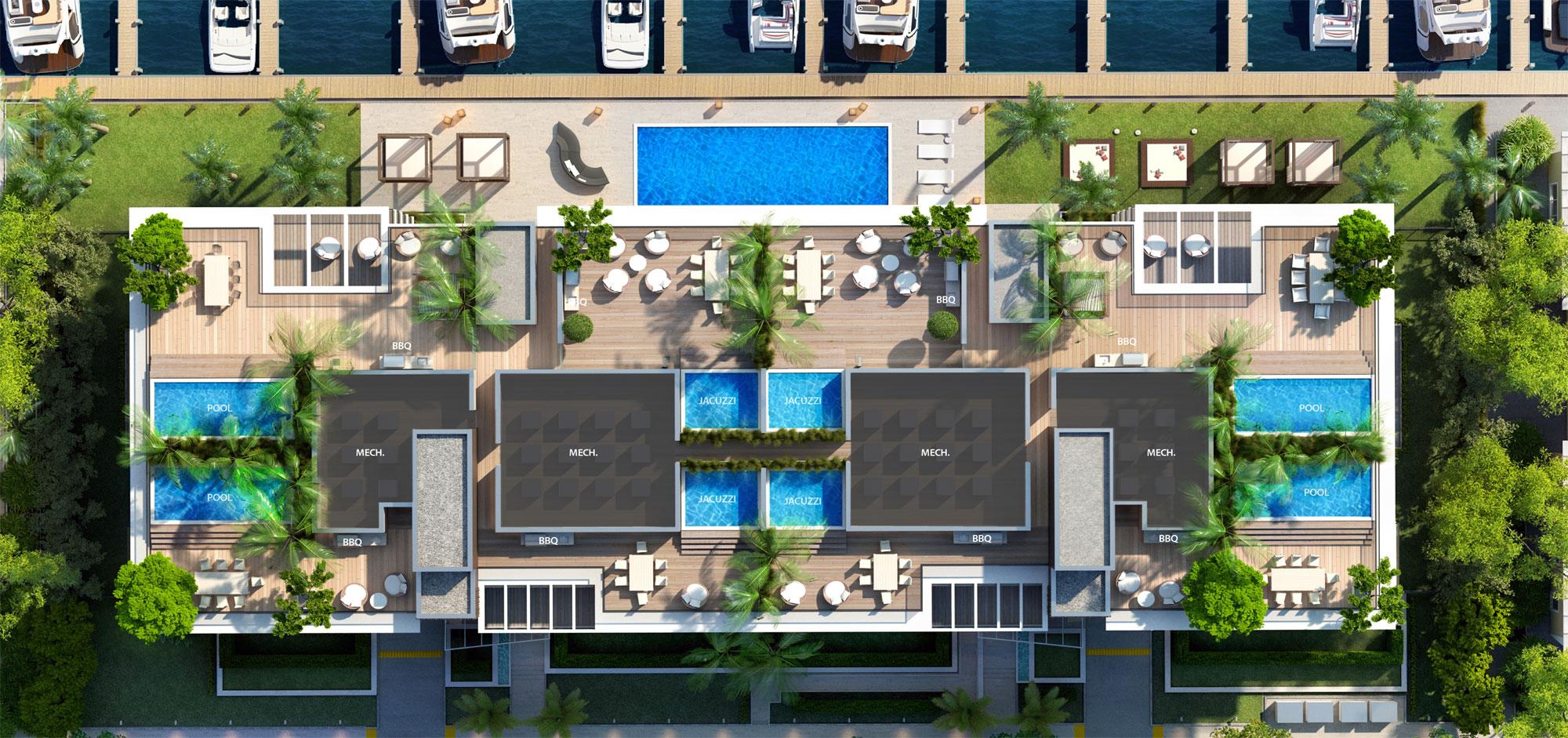 AquaLuna Las Olas luxury waterfront condosNew Build Homes