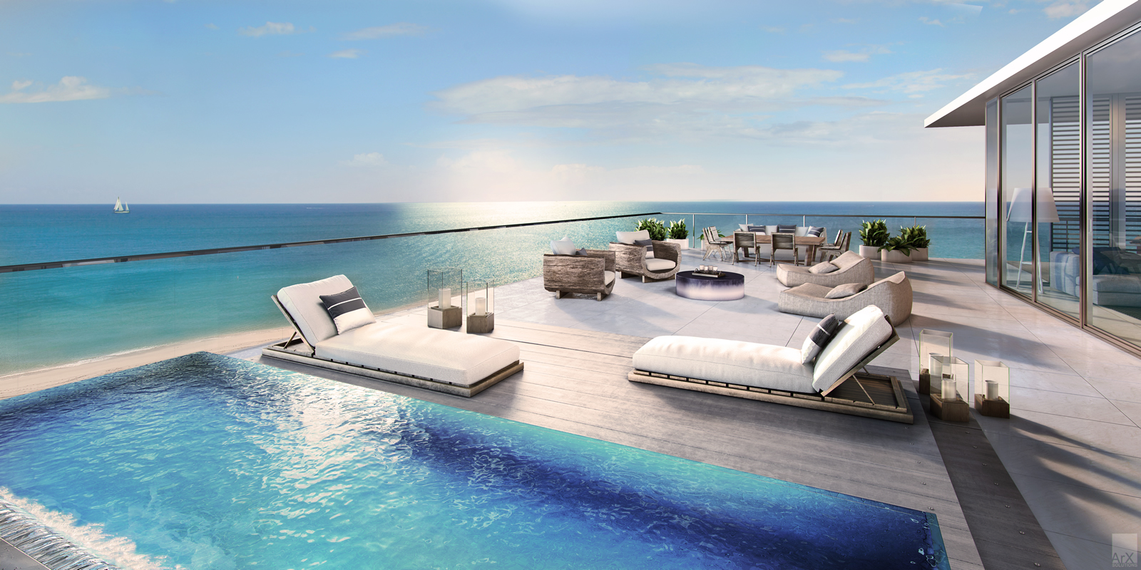 Auberge beach residences spa in fort lauderdale beachnew for Pool design fort lauderdale