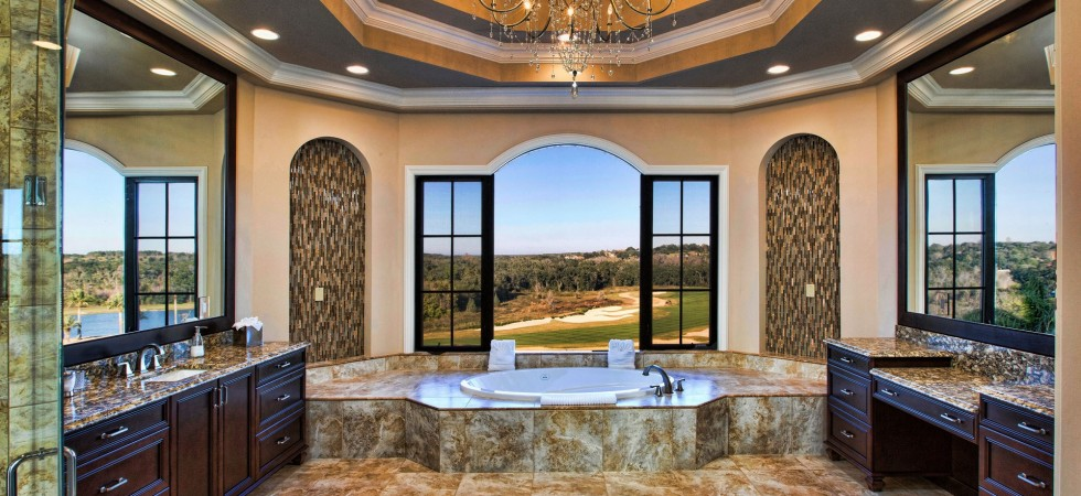 Bella Collina. Luxury Tuscan inspired Mediterranean homes and estate in construction