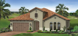 Birkdale model TwinEagles community golf homes in Naples Florida