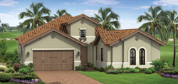 Prestwick Grande model TwinEagles community golf homes in Naples Florida