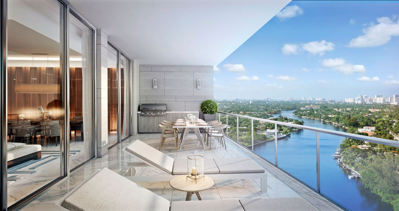 Riva Condos In Fort Lauderdale On The Rivernew Build Homes