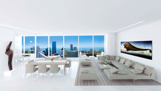 The Edge on Brickell. New luxury waterfront condos in Miami