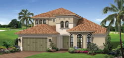 Turnberry Grande model TwinEagles community golf homes in Naples Florida