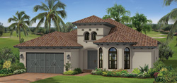 Turnberry model TwinEagles community golf homes in Naples Florida
