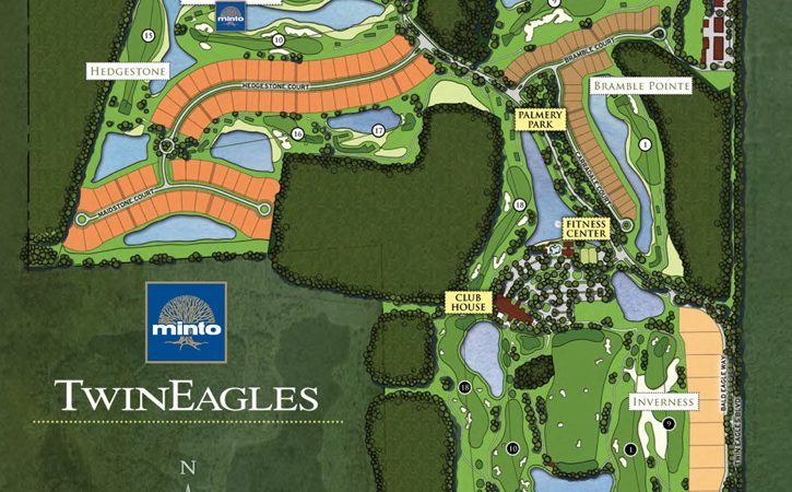 Twin Eagles in Naples. New homes for sale