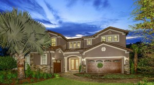Portside model Enclave at VillageWalk in Lake Nona
