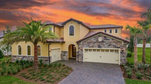 Garden Vista model Enclave at VillageWalk in Lake Nona