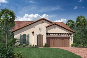 Massiano model at Royal Cypress Preserve