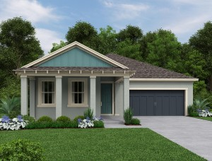 Ashbury II model at Peachtree Park in Windermere