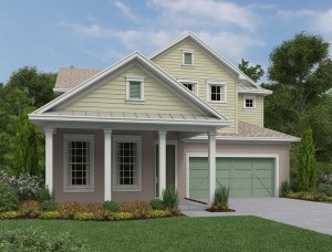 Key West model at Peachtree Park in Windermere