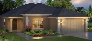 Sabal Palms model at Crofton Springs in Providence, Davenport, Orlando