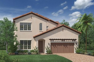 Wynngate model at Royal Cypress Preserve