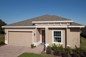 Laurel Estates vacation homes for sale near Disney. Bartley Flex model
