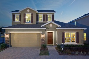Laurel Estates vacation homes for sale near Disney. Monica Grande model