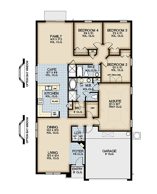 Plan 66342we 3 Bed Beauty With 2 Lanai: Aviana Resort In Davenport OrlandoNew Build Homes