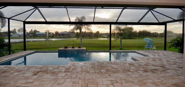 New waterfront home for sale in Cape Coral