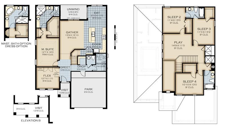 Pensacola floor plan summerbrooke in mount dora on mt dora apartments ...