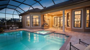 Orchid II model at Lakoya in Lely Resort Naples new homes