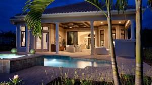 Palmhurst model at Lakoya in Lely Resort Naples new homes