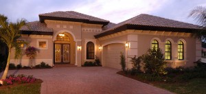 Ravenna II model at Canwick Cove in Lely Resort Naples new homes