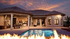Riviera II model at Lakoya in Lely Resort Naples new homes