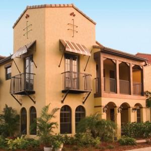San Fernando model at Ole in Lely Resort Naples new homes