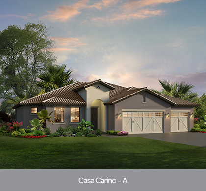 Casa Carino model at The Preserve at Lake Sylvan