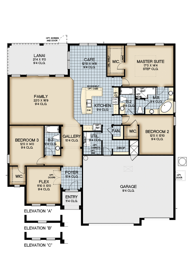 New homes at the preserve at lake sylvannew build homes for Lake view floor plans