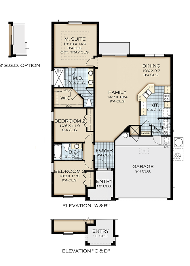 New homes at legacy park kissimmee for Legacy homes floor plans