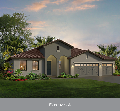 Florenzo model at The Preserve at Lake Sylvan