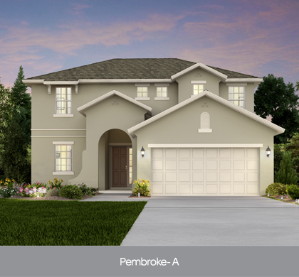 Pembroke model at Legacy Park Kissimmee