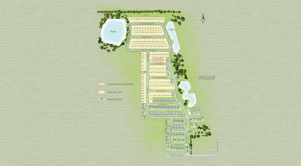 Site Plan of Legacy Park Kissimmee