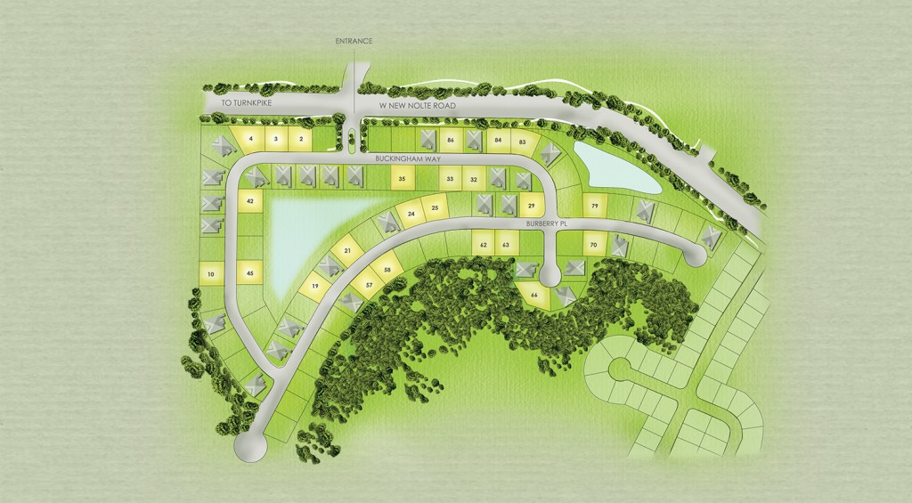 Siteplan  at The Estates at Stevens Plantation