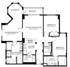 The Grove Resort and Spa condo floor plans