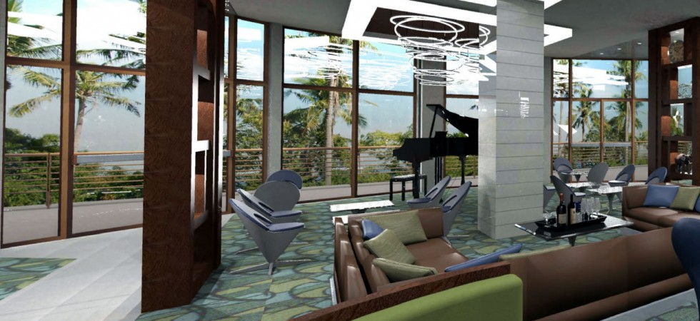 The Grove Resort and Spa Piano lounge bar