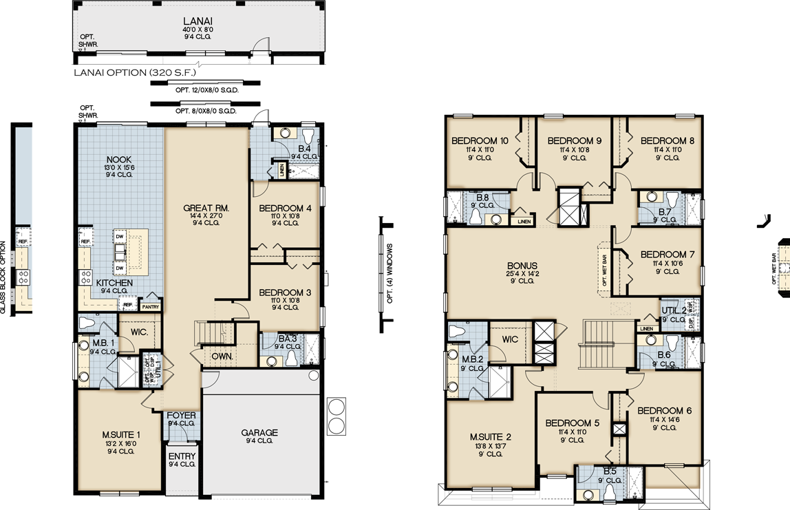 sonoma resort vacation homes by park square homes view floorplan