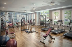 Gym at Summerville Resort