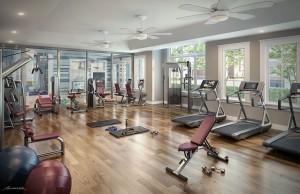 Gym at Summerville Resort
