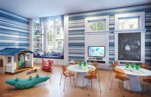 Kids playroom at Summerville Resort