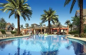 Swimming pool at Summerville Resort