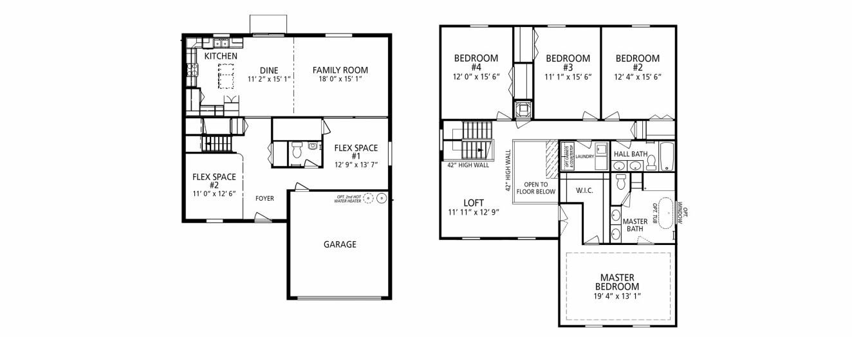 Williams Preserve new homes for sale in Davenport FloridaNew Build Homes – Maronda Homes Baybury Floor Plan