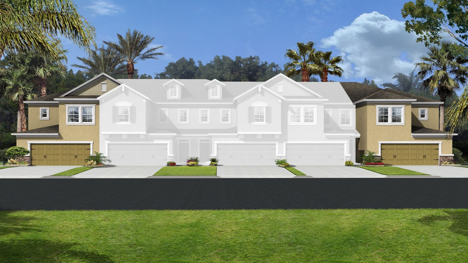 Magnolia Pointe Townhomes For Sale In Clermontnew Build Homes