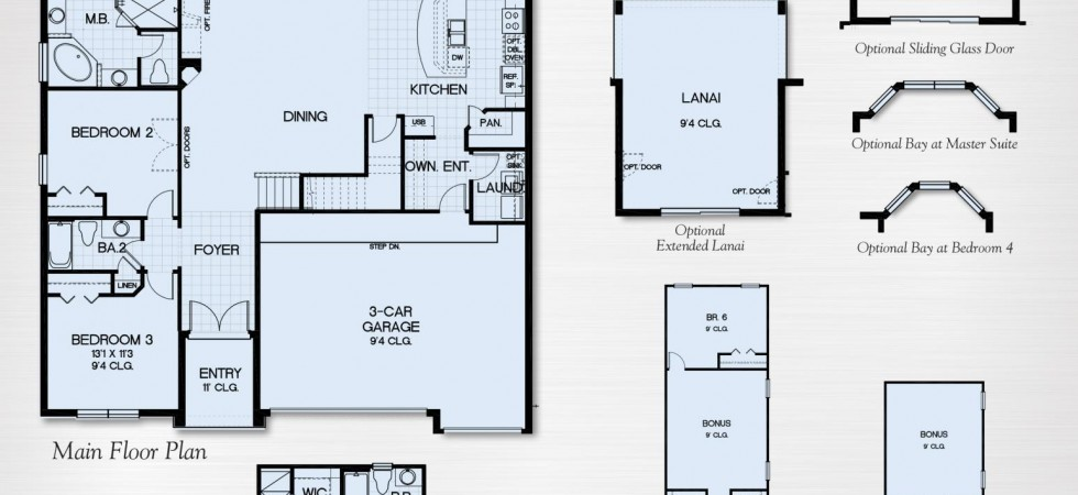 Avalon Ii Floor Plan Ardmore Reserve Minneola New Construction Homes New Build Homesnew Build Homes