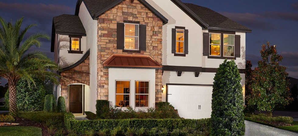New homes for sale in Orlando at Heritage Oaks near Lake Nona