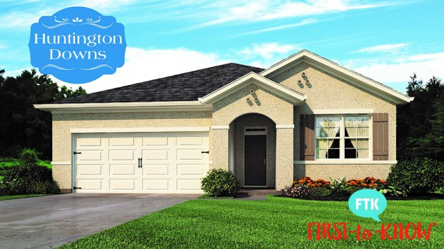 Huntington Downs new homes in Deland, Florida