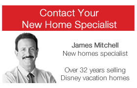 Sonoma Resort new home specialist James Mitchell