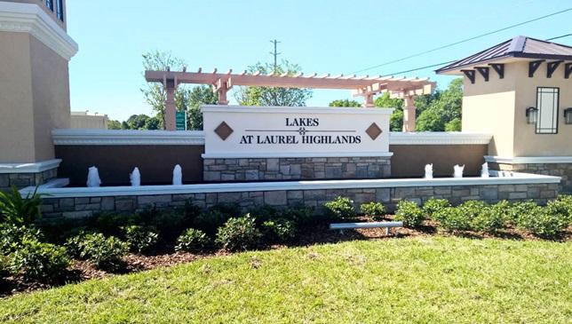 Lakes at Laurel Highlands new homes for sale in Lakeland Florida
